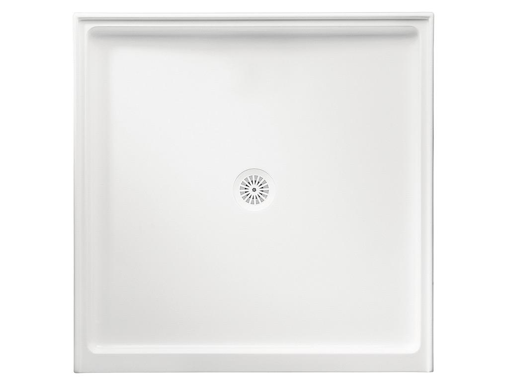 Flinders Polymarble Square Shower Bases Marbletrend